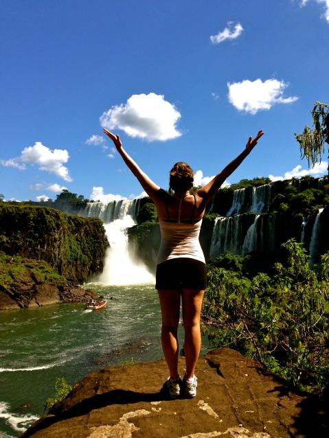 Quiet Meditation. Iguazu Falls, Argentina.