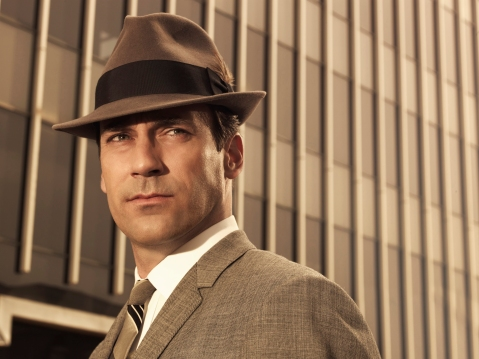 Don Draper, of Mad Men, Played by Jon Hamm