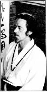Alan Watts in meditation